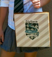 Slytherin Crest Cigar Box Purse