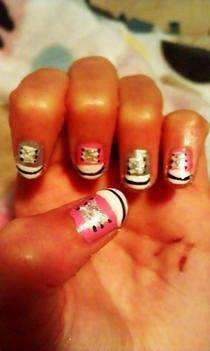 Shoe Nail Art!