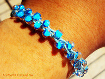 Wrapped & Beaded Friendship Bracelet
