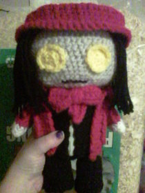Crochet Alucard Plushie