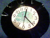Vinyl Clock