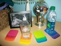 Paint Swatch Coasters