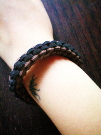 Leather Lanyard Bracelet
