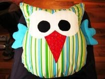 "Owl Cushion ""Irma"""
