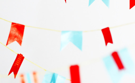 Make Easy Ribbon Bunting