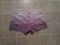 Purple Gradient Shorts
