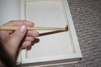 How to make a book box. Hollow Book - Step 8