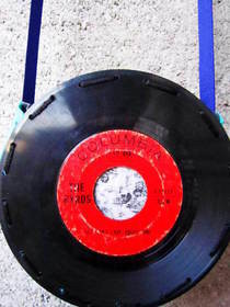 Vinyl Record Purse
