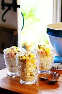 Tropical Fruit Eton Mess