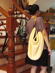 Yellow Bell Bag