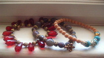 "D.I.Y ""Stacked"" Beaded Bracelets"