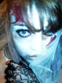 Zombie Jilted Bride Make Up