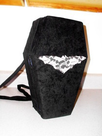 Creepy Coffin Purse