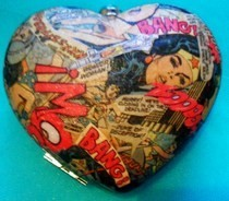 Wonder Woman Comic Book Handbag