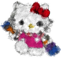 Psykopaint Hello Kitty