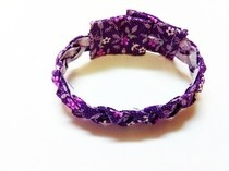 Braided Fabric Bracelet