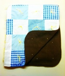 Blue Baby Blanket 