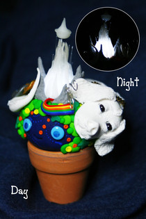 The Neverending Story Fiber Optic Pot Head