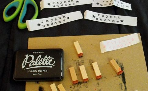Homemade Clothing Tags