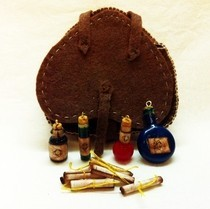 Skyrim Knapsack With Potions, And Recipes