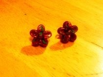 Flower Bead Earrings