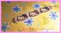 Hello Kitty Beaded Bracelet