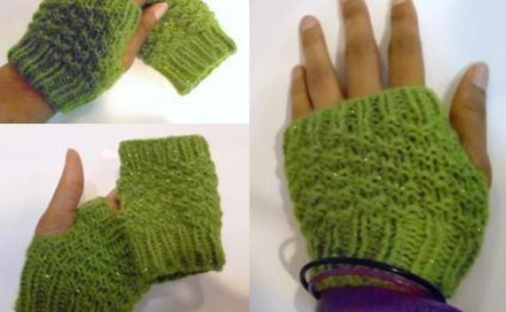Sparkle Mitts