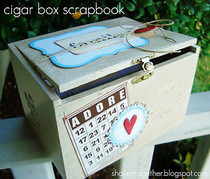 Cigar Box Scrapbook