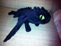 Toothless Dragon Plushie
