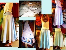 4 Panel Circle Skirt