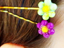 Pin Head Daisy Bobby Pin