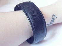 Leather Bangle From Belt