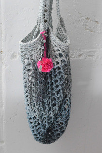 Crochet A Free People Like Beach Bag
