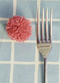 Tiny Fork Pom Pom's 