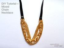 Mixed Chain Necklace