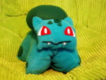 Bulbasaur Pillow Poke! 