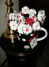 Mad Tea Party Flower Pot