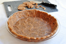 Cinnamon Swirl Pie Crust