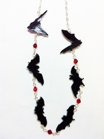 Vampire Bats Necklace