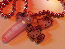 Shrinky Dinks Hello Kitty Charm Necklace