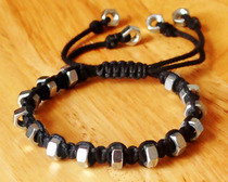 String &amp; Hexnut Bracelet