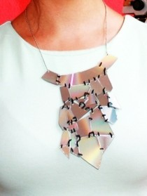 Cd Statement Necklace