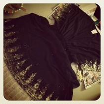 Glitter Edged Dress