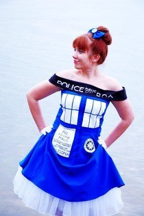 The Tardis Dress