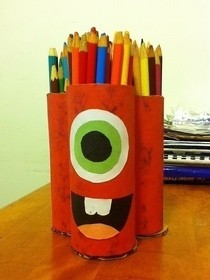 Monster Pencil Holder