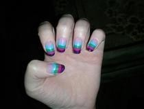 Muli Coloured Nails 