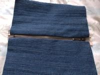 How to make a pencil cases. Diy Denim Pencil Case - Step 5
