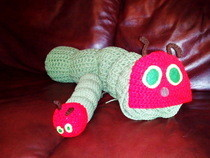 The Very Hungry Caterpiller Crochet Blanket And Toy