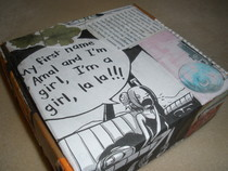 Comic Collage Box