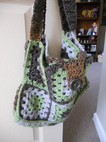 Granny Square Handbag